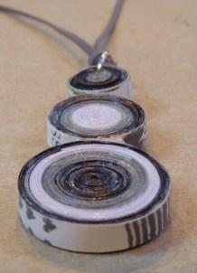 09_Quilling Halskette aus Altpapier