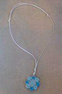 12_Quilling Halskette aus Altpapier