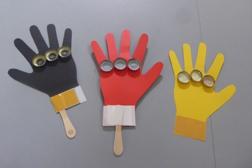 Klatschhand_EM_Fußball_Deutschland_basteln_Kronkorken_Kinder_DIY_Recycling_FRICKELclub (2)