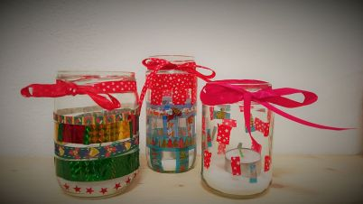 glas_windlichter_teelicht_weihnachten_recycling_diy_basteln_kinder_grundschule-15