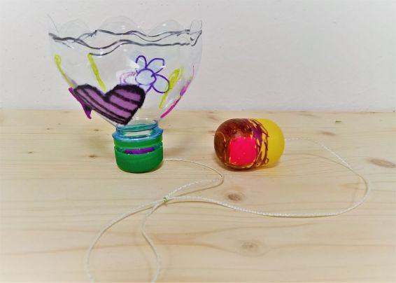 Upcycling_DIY_PET Flaschen_Geschicklichkeitsspiel_Kinder_FRICKELclub (10)