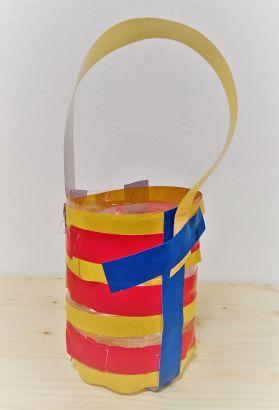 Upcycling_DIY_PET Flaschen_Korb_Utensilo_Kinder_FRICKELclub (17)