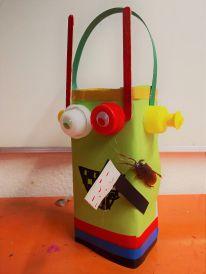 Gruneliusschule_Frankfurt_externe AG_FRICKELclub_Halloween_Recycling_Basteln (29)