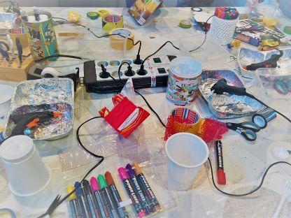 FRICKELclub_Recycling_Geburtstagsbasteln_Kinder_Bastelaktion (14)
