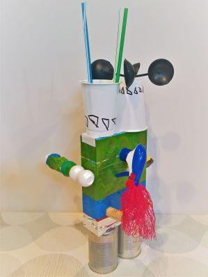 FRICKELclub_Recycling_Geburtstagsbasteln_Kinder_Ninjago_Spinjitzu_Aliens_Roboter_Fahrzeuge (11)