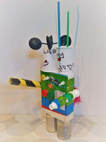 FRICKELclub_Recycling_Geburtstagsbasteln_Kinder_Ninjago_Spinjitzu_Aliens_Roboter_Fahrzeuge (9)