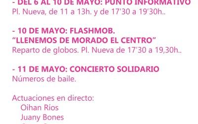 Programa de actividades para la Semana de la Fibromialgia en la Ribera
