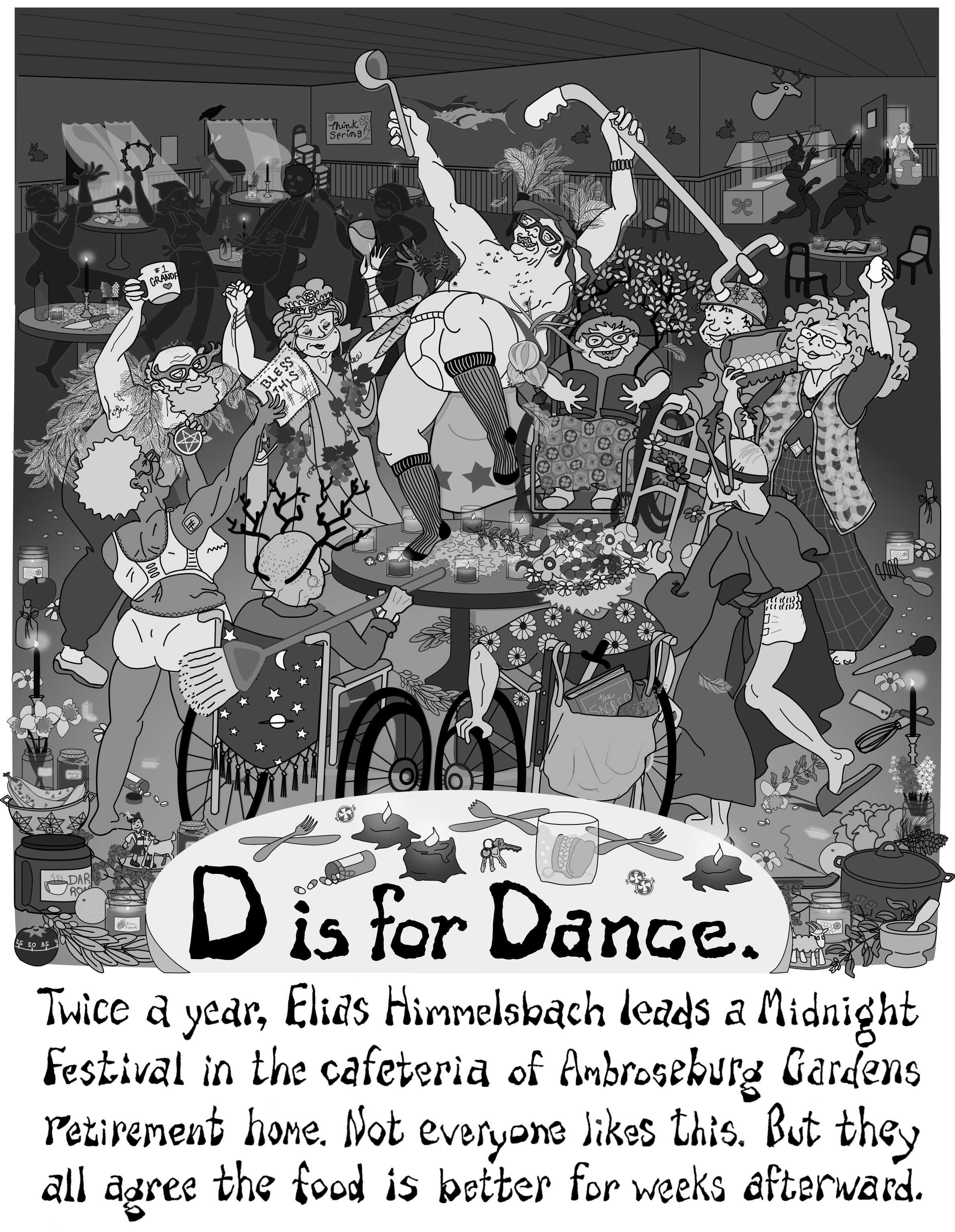 D is for Dance