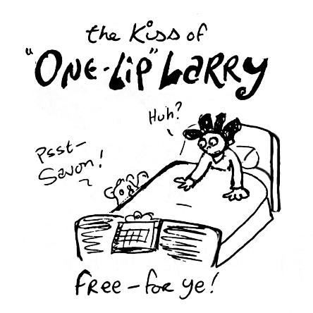 """""""One-Lip"""" Larry"""