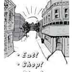 Foldertown Shopper's Guide, page 1