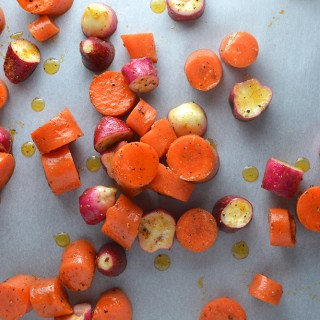 Roasted Radishes and Carrots Fridge to Fork