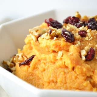 Healthy Mashed Sweet Potatoes - Fridge to Fork