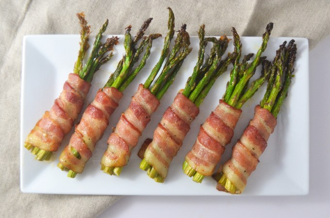 Bacon-Wrapped Asparagus Bundles (Whole30 + Paleo) - Fridge to Fork