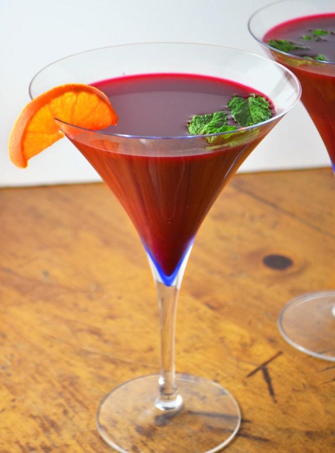 Beet Ginger + Apple Martini - Fridge to Fork