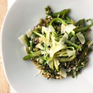 Rice Pilaf with Asparagus + Peas - Fridge to Fork