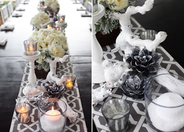 Sukkulenten Fr Die Hochzeit In Silber
