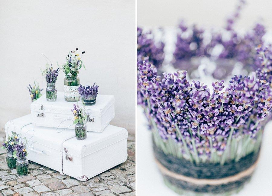 Hochzeitsdeko Mit Lavendel