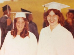 Janice and me at graduation