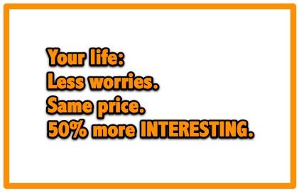 50% more interesting!