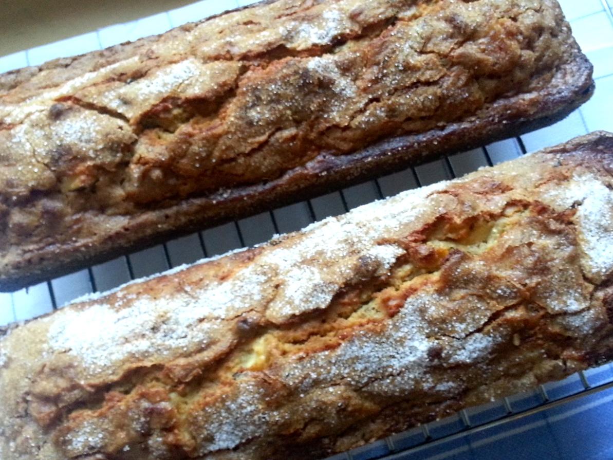Apple Raisin Amish Friendship Bread by Saskia Baur   friendshipbreadkitchen.com