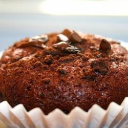 Girl Scout Thin Mint Cookie Amish Friendship Bread Muffin ♥ friendshipbreadkitchen.com