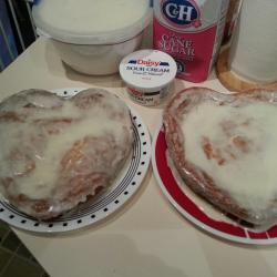 Lemon Cheesecake Amish Friendship Bread by Nancy Hubbard | friendshipbreadkitchen.com