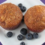 Blueberry Amish Friendship Bread Muffins