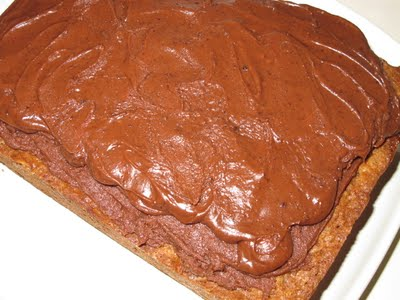 Chocolate Icing for Amish Friendship Bread by Michelle Lee | friendshipbreadkitchen.com