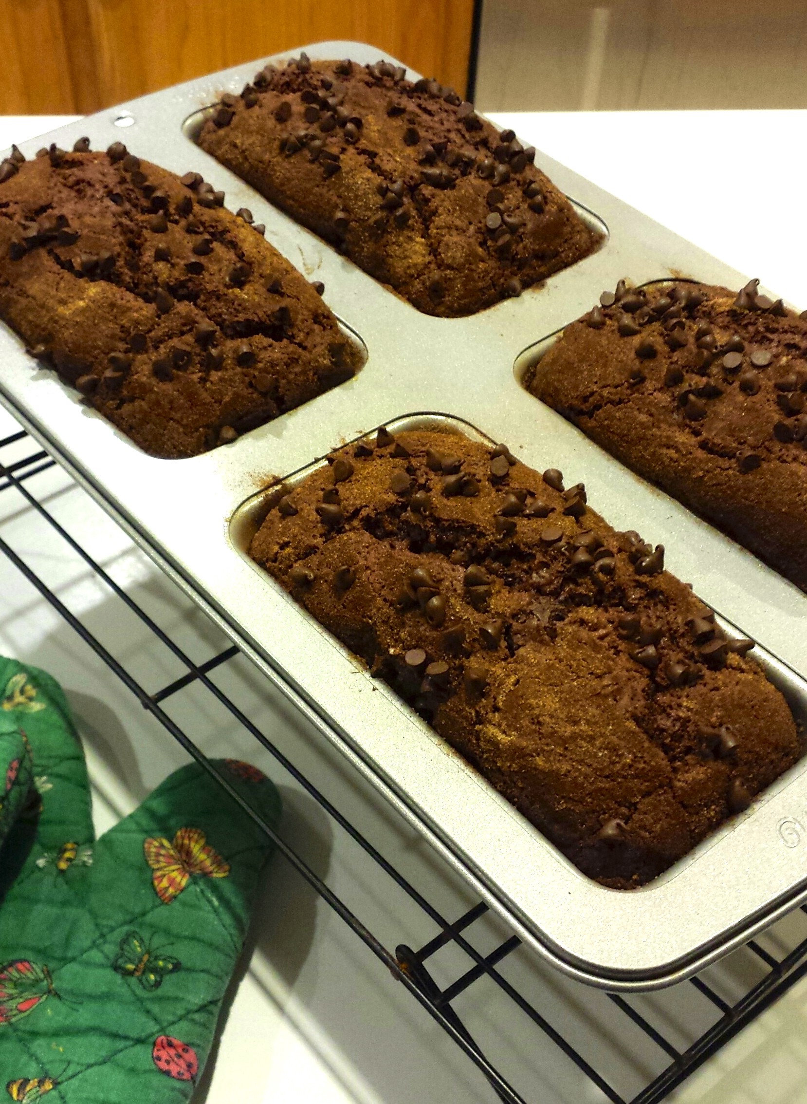 Double Chocolate Rum Amish Friendship Bread by Veronica Miller ♥ friendshipbreadkitchen.com