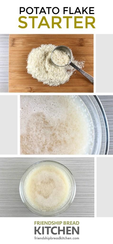 Amish Friendship Bread Potato Flake Starter | friendshipbreadkitchen.com