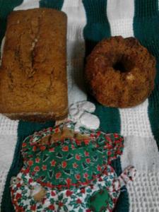 GF DF Amish Friendship Bread Gingerbread