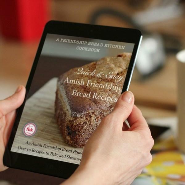 Quick and Easy Amish Friendship Bread Recipes iPad