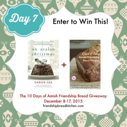 Day 7 of the 10 Days of Amish Friendship Bread Giveaway – Mix or Mash