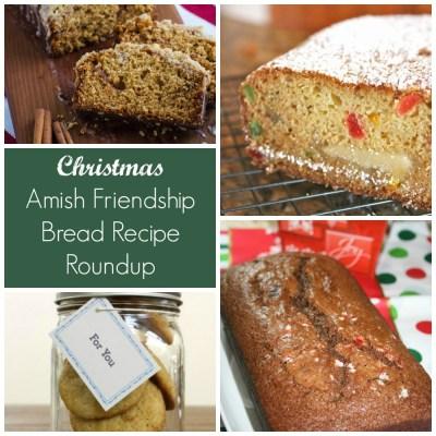 Christmas Amish Friendship Bread Recipe Roundup | friendshipbreadkitchen.com