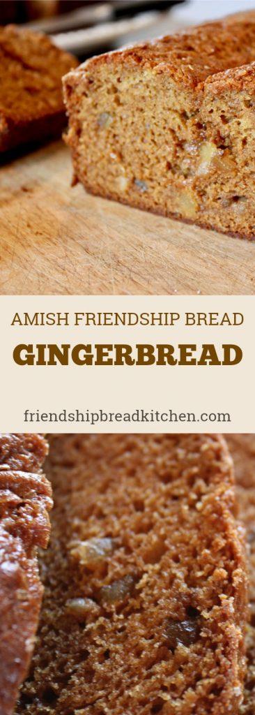 Gingerbread Amish Friendship Bread