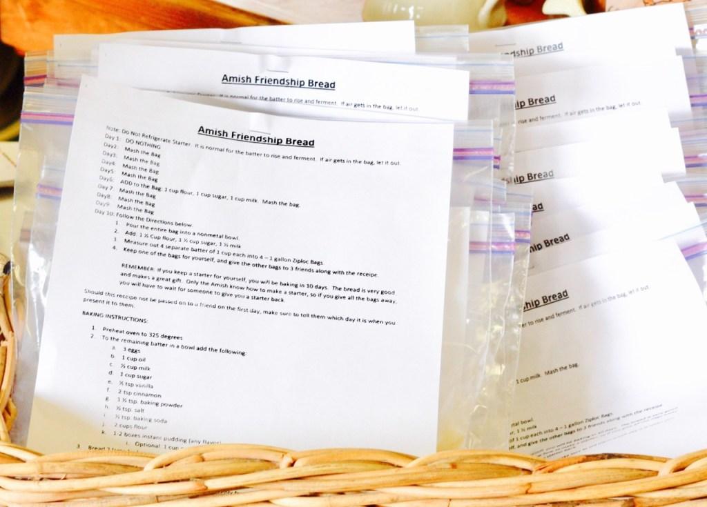 Amish Friendship Bread Instructions + Starter | friendshipbreadkitchen.com