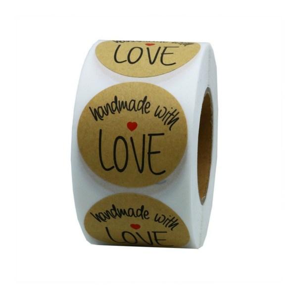 Round Handmade with Love Labels   friendshipbreadkitchen.com