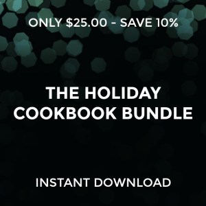 Holiday Cookbook Bundle Square