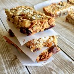Amish Friendship Bread Chewy Granola Bars