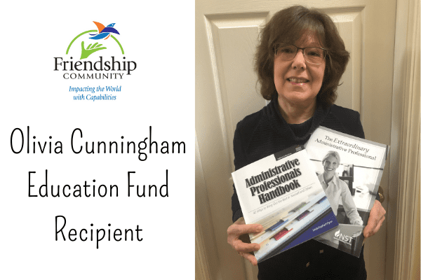 Olivia Cunningham Education Fund Recipient