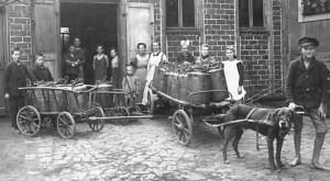 Hoover's feeding program in the 1920s.