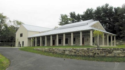 Chestnut Hill Meeting's new meetinghouse.