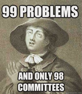 99 Problems / And only 98 committees