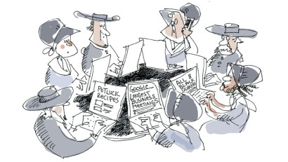 Cartoon by Signe Wilkinson