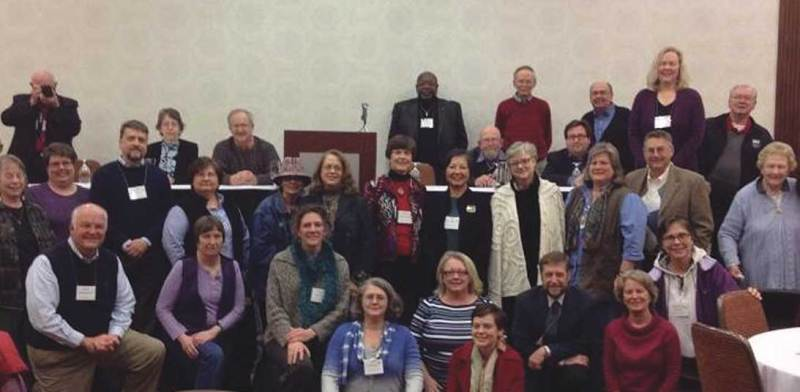Participants at the Soul Repair Conference in Durham, N.C., March 2014.