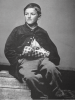 Edward (William) Black (1853-1872) was a drummer boy for the Union during the American Civil War. At 12 years old, his left hand and arm were shattered by an exploding shell. He is considered to be the youngest wounded soldier of the war.