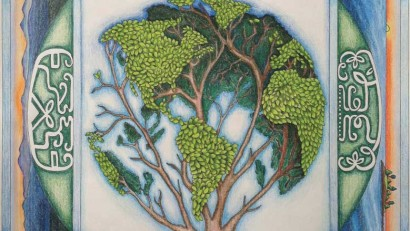 """""""Stewardship of the Earth,"""" a collaboration between James E. Francis and Arla Patch. Learn more."""