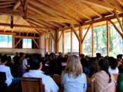 Meeting for worship at Monteverde Meetinghouse.