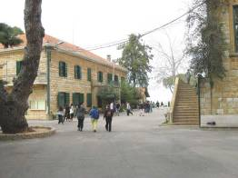 Ramallah High School taken in March 2010 when the author visited.