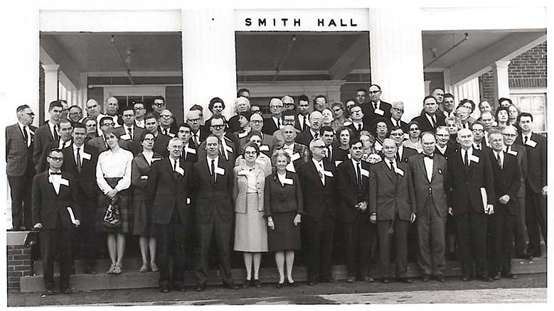 Participants in the 1964 annual meeting of FCNL's General Committee at the 4-H Center in Washington, D.C.